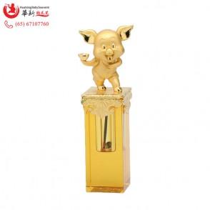 24K金猪章