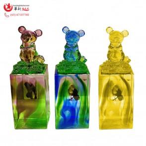 Fengshui Dog 风水吉祥琉璃鼠